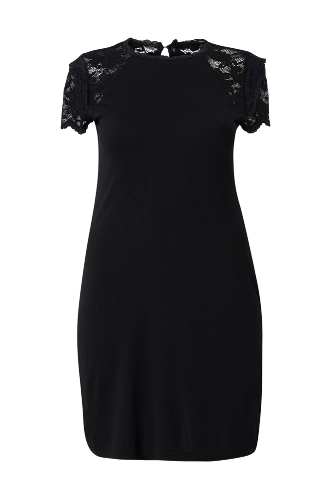 Vero Moda Curve Kjole vmSandrea SS Obove Knee Dress