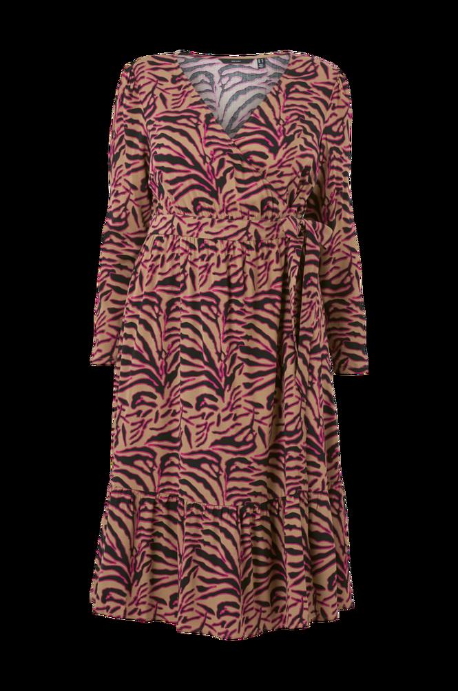 Vero Moda Curve Slå om-kjole vmAllisa LS Midi Dress - K Curve