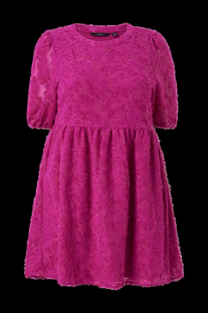 Vero Moda Curve Kjole vmFaroas 2/4 SL Mini Dress - K Curve