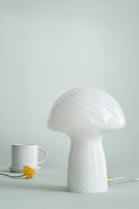 Bordslampa Mushroom Stripe Mini