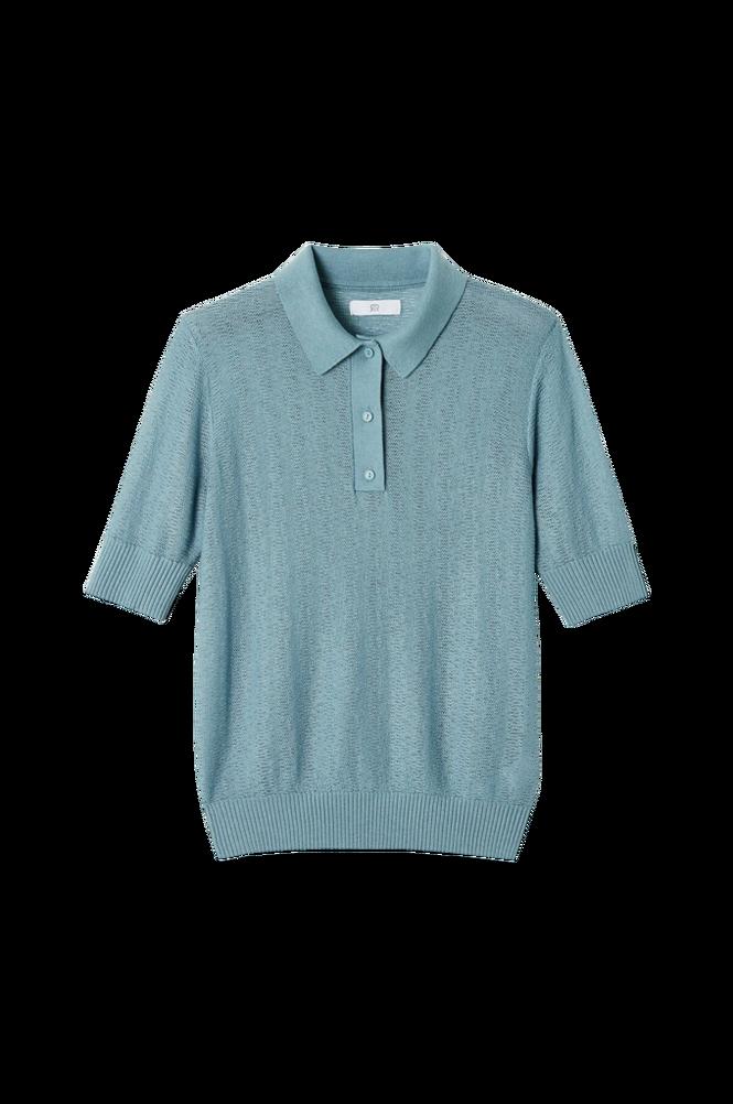 La Redoute Finstrikket trøje med krave