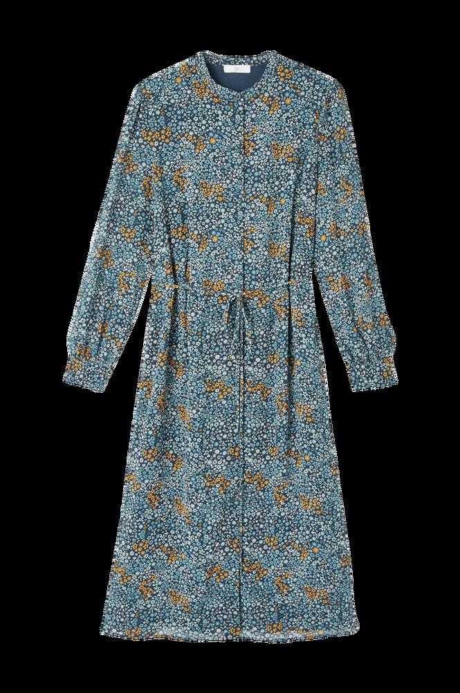 La Redoute Lige, blomstret skjortekjole med langt ærme