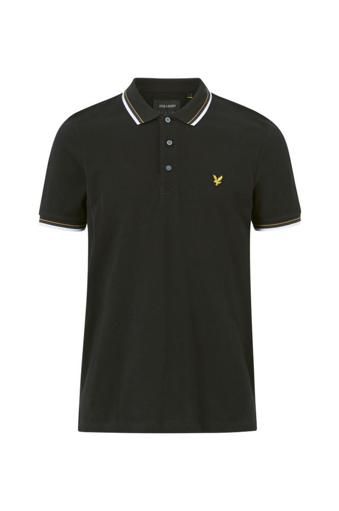 Lyle & Scott Poloshirt Tipped Polo Shirt