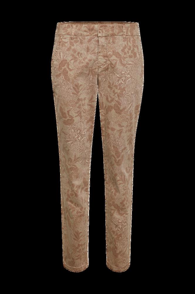 Cream Byxor crCindy Printed Chino Pant