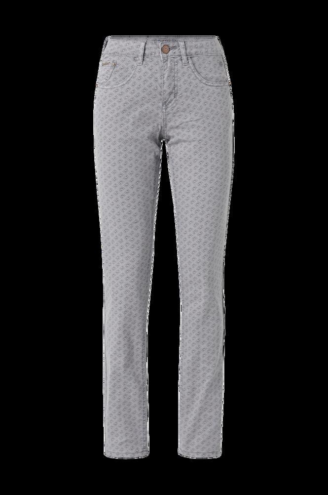 Cream Byxor crLotte Printed Twill Pant