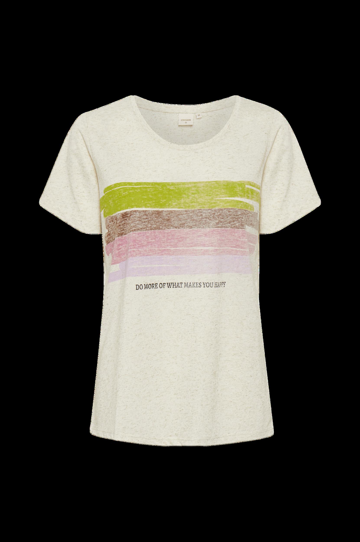 Cream - Topp crLeishia T-shirt - Natur