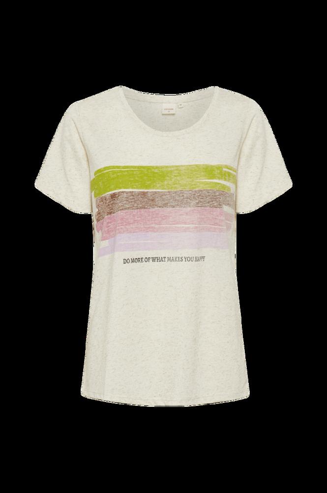 Cream Top crLeishia T-shirt