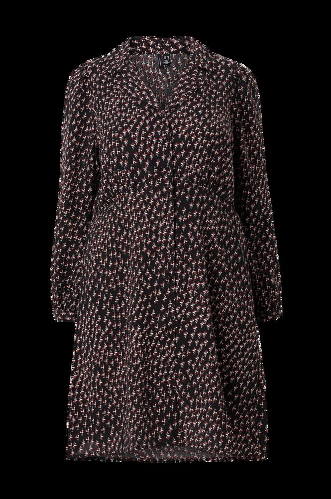 Vero Moda Curve Kjole vmTanja L/S V-neck Short Dress Exp Curve