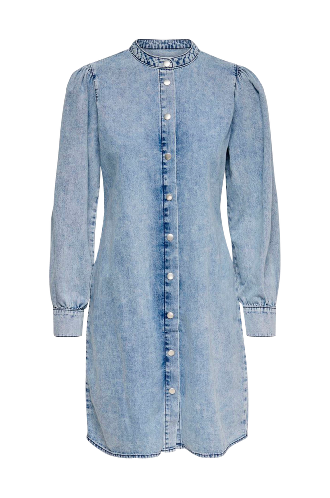 Jacqueline de Yong Jeansklänning jdyDorotea Life Puff Sleeve Dress