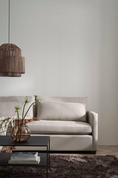 Soffa Waldoria 3-sits med linneklädsel