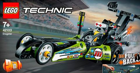 Technic - Dragster