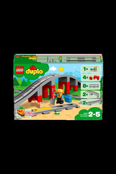 Town - Tågbro och spår