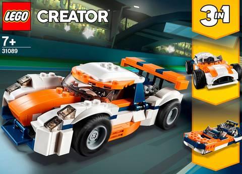 Creator - Orange racerbil