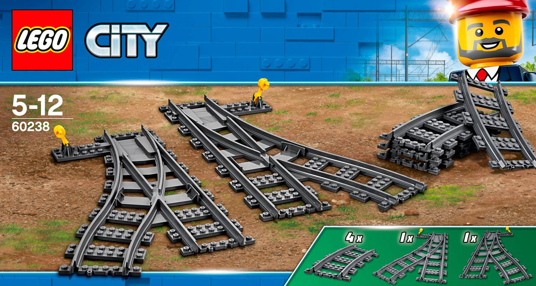 LEGO - City Trains - Växlar