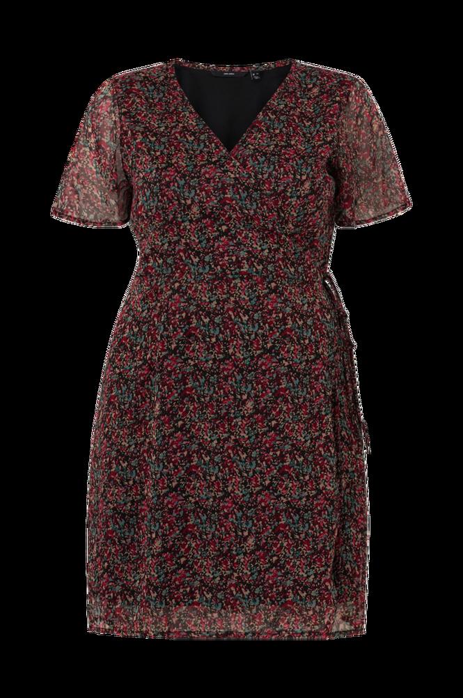 Vero Moda Curve Slå om-kjole vmKay SS Wrap Short Dress Curve