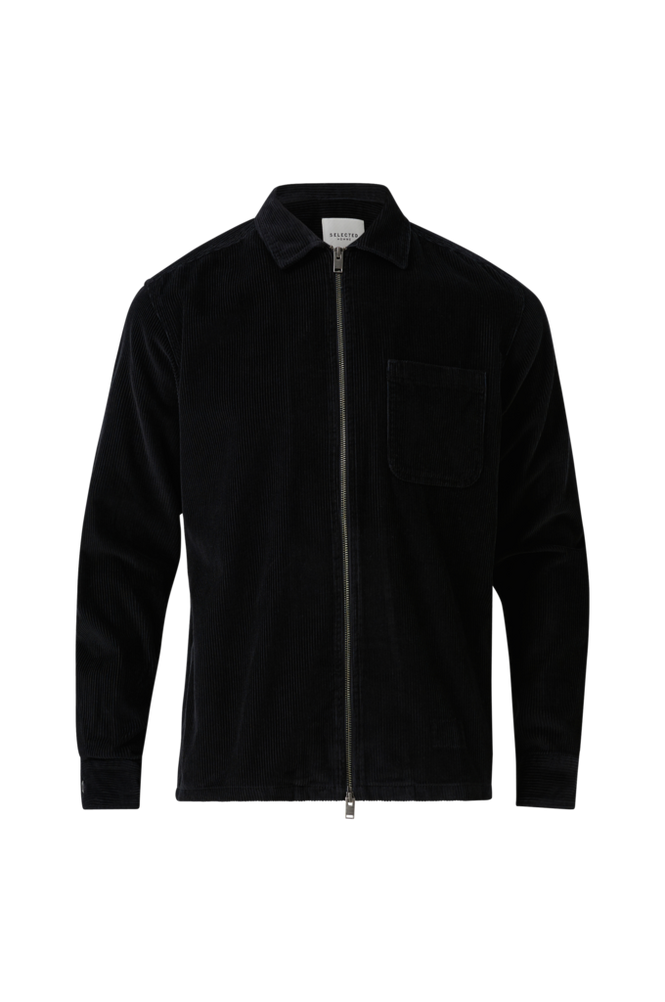 Selected Homme Overshirt slhLoosecord-Zip LS W