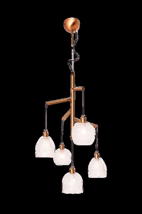 Grace taklampa 5-låg Ø 53 cm