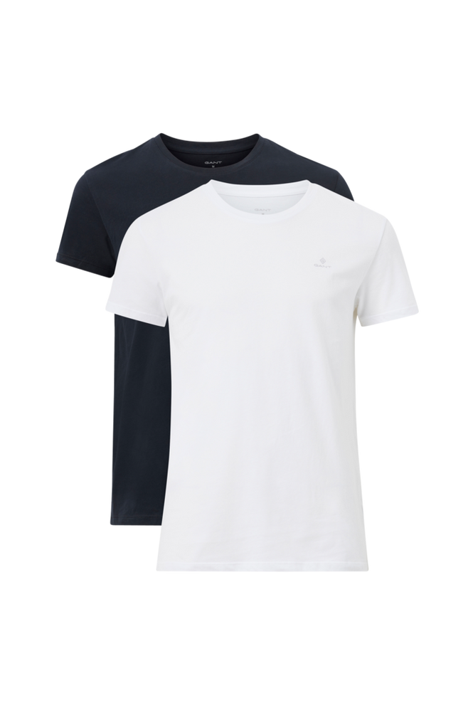 Gant 2-pak T-shirt C-Neck T-shirt 2-pak