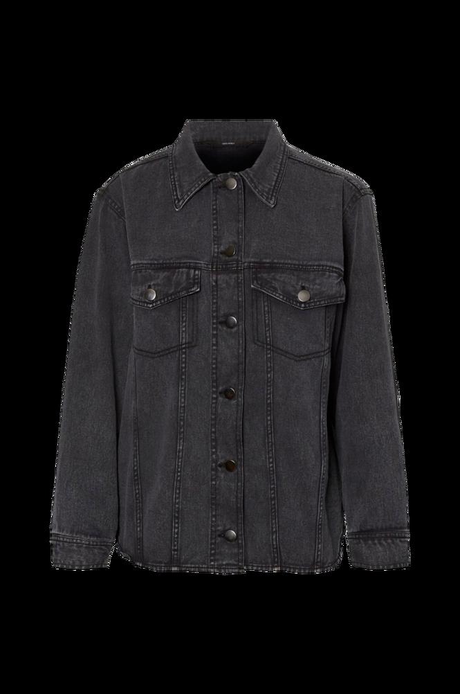 Se Vero Moda Skjortejakke vmAmai LS Oversize Shirt Jacket ved Ellos
