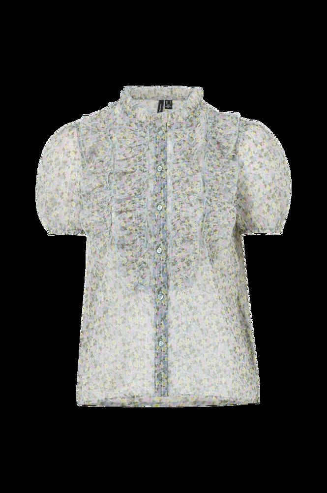 Vero Moda Bluse vmMira S/S Frill Shirt