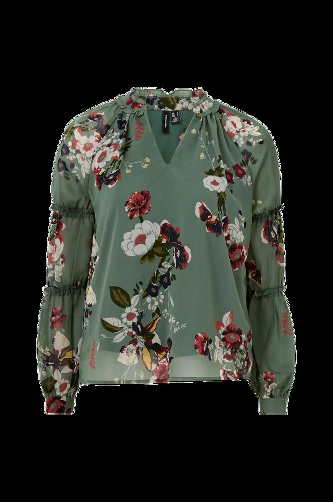 Vero Moda Bluse vmLovely L/S V-neck Top