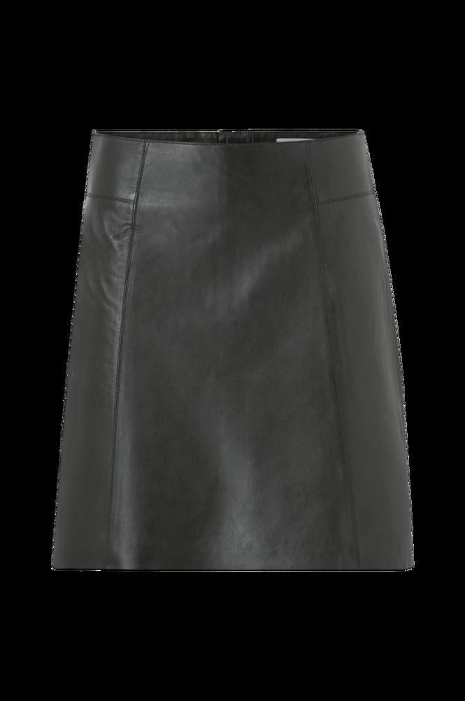 Selected Femme Skindnederdel slfIbi Leather Skirt