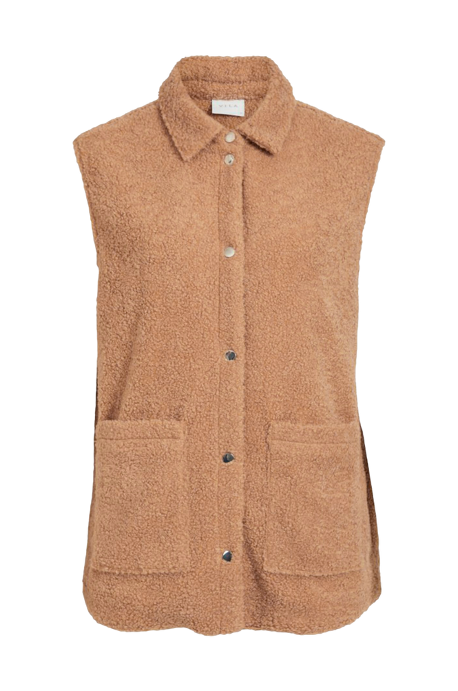 Vila Plysvest viVesti Teddy Vest