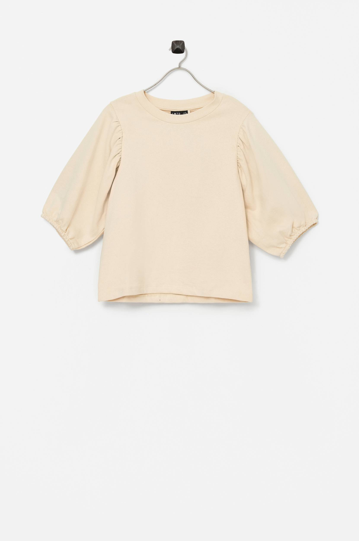Name it - Sweatshirt nlfHallon SS Short Sweat - Natur