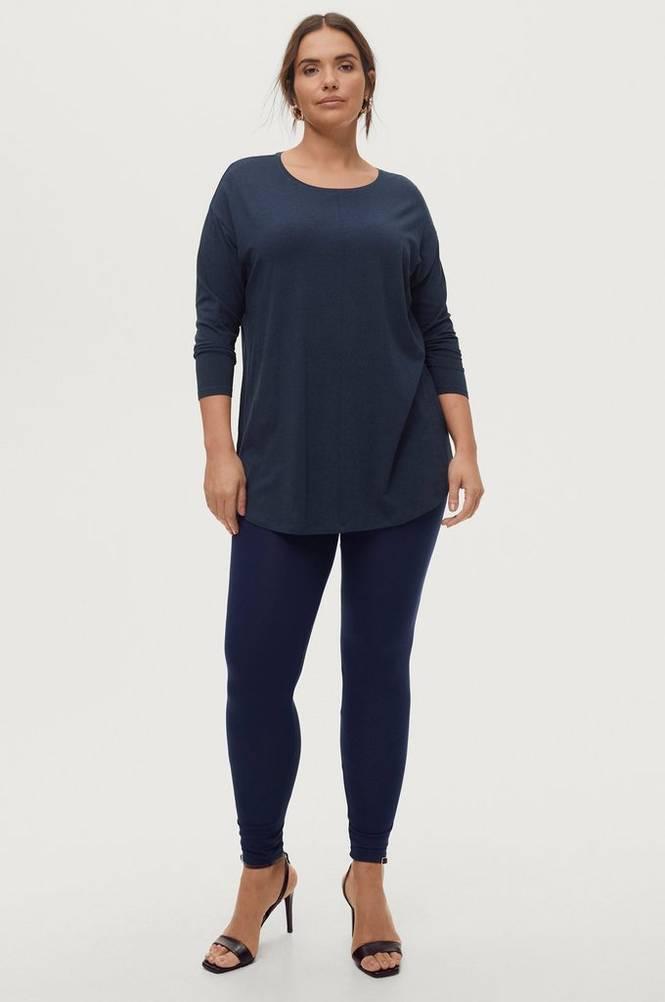 Zizzi Leggings Long Slim Fit Stretchy Basic