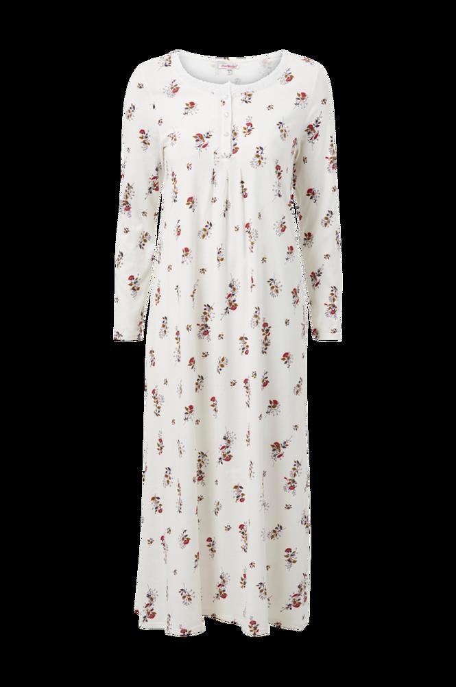 La Redoute Lang jerseynatkjole med hæklede detaljer