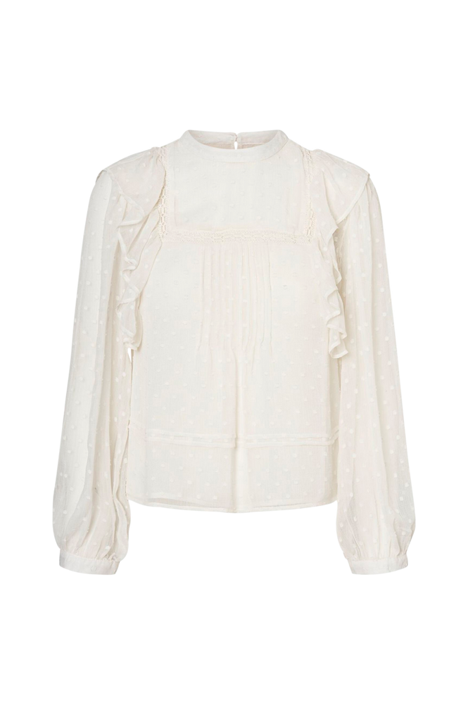 Vero Moda Bluse vmWilma L/S Pleat Top