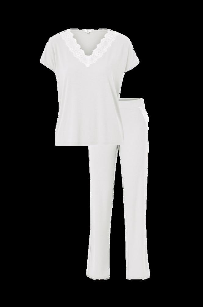 La Redoute Jerseypyjamas med blondedetaljer