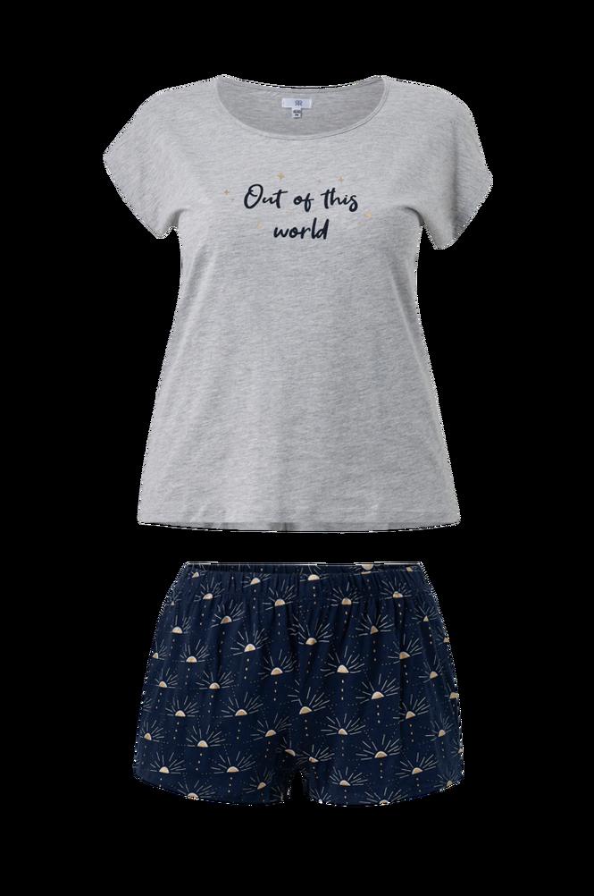 La Redoute Pyjamas med shorts og kort ærme