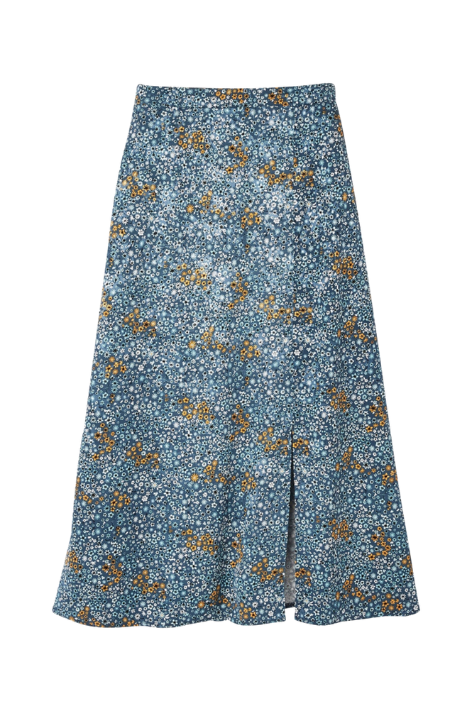 La Redoute Lang, blomstret nederdel