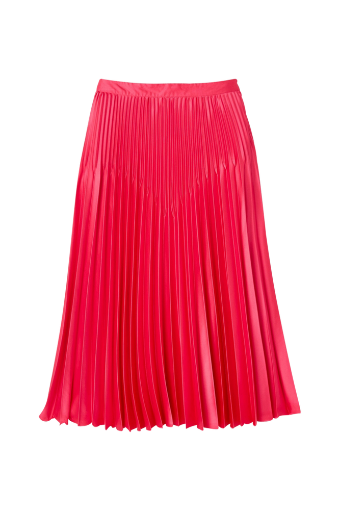 La Redoute Lang, plisseret nederdel