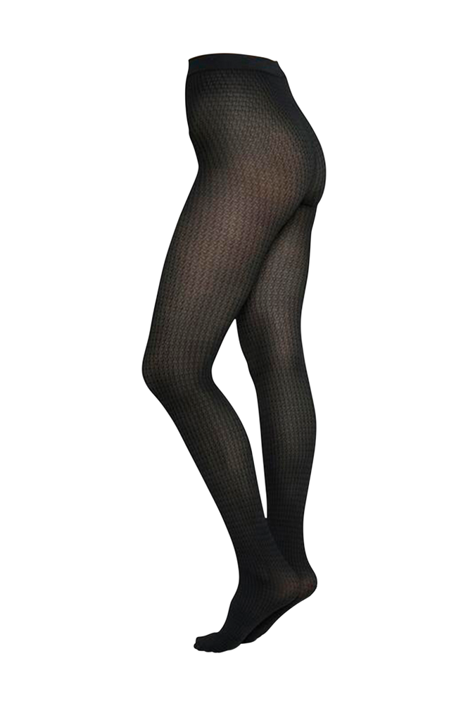 Swedish Stockings Strømpebukser Agnes Houndstooth Tights 60 denier