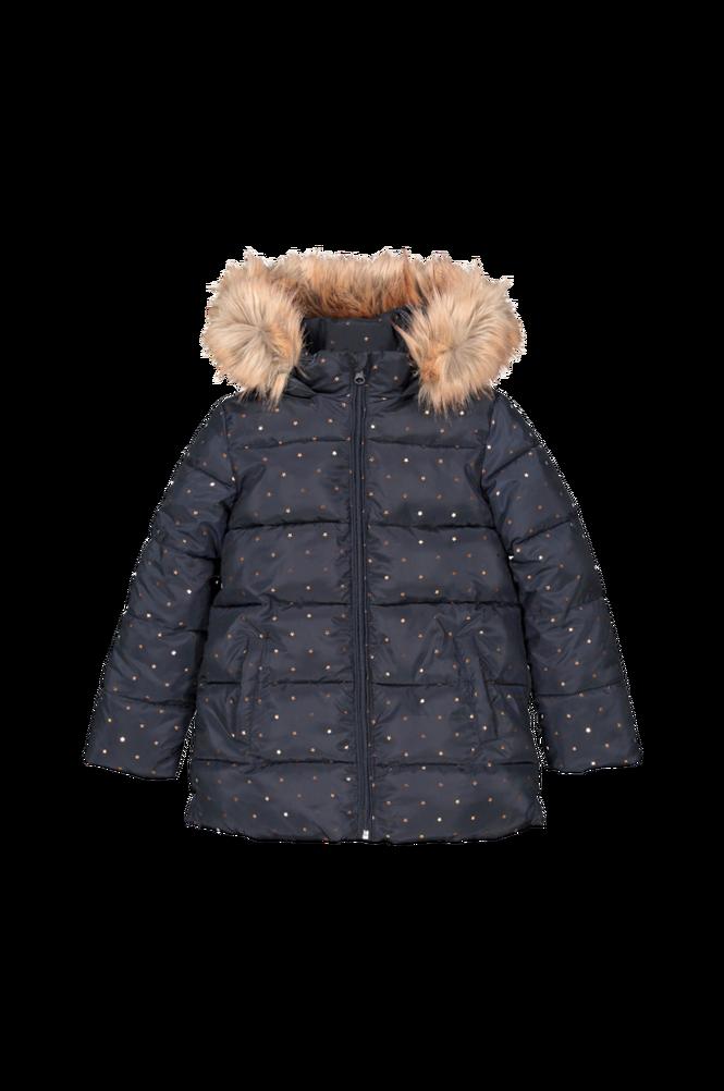 La Redoute Stjernemønstret, quiltet jakke med hætte