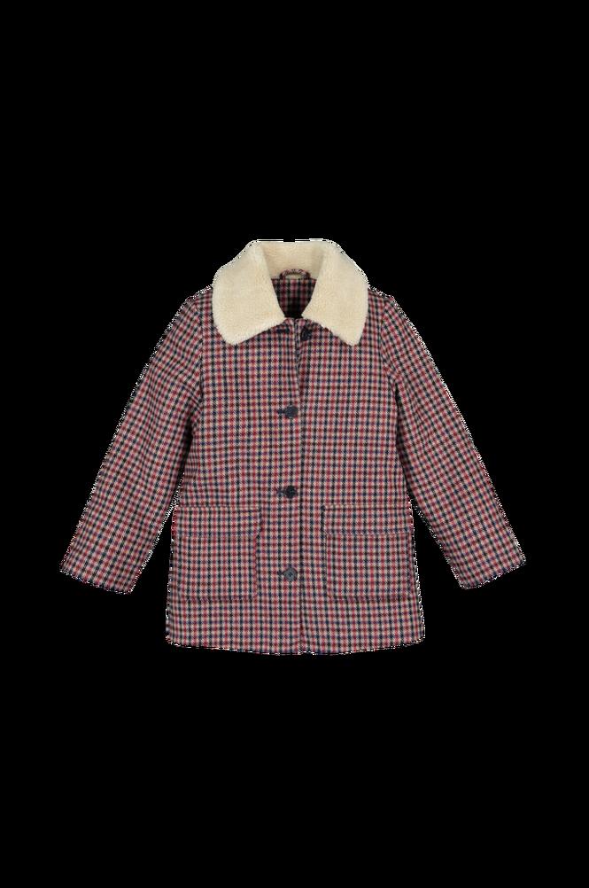 La Redoute Ternet frakke med krave i imiteret fåreskind