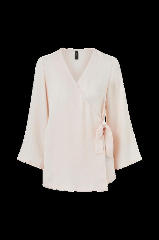 Y.A.S Slå om-bluse yasMaibritt 7/8 Wrap Shirt
