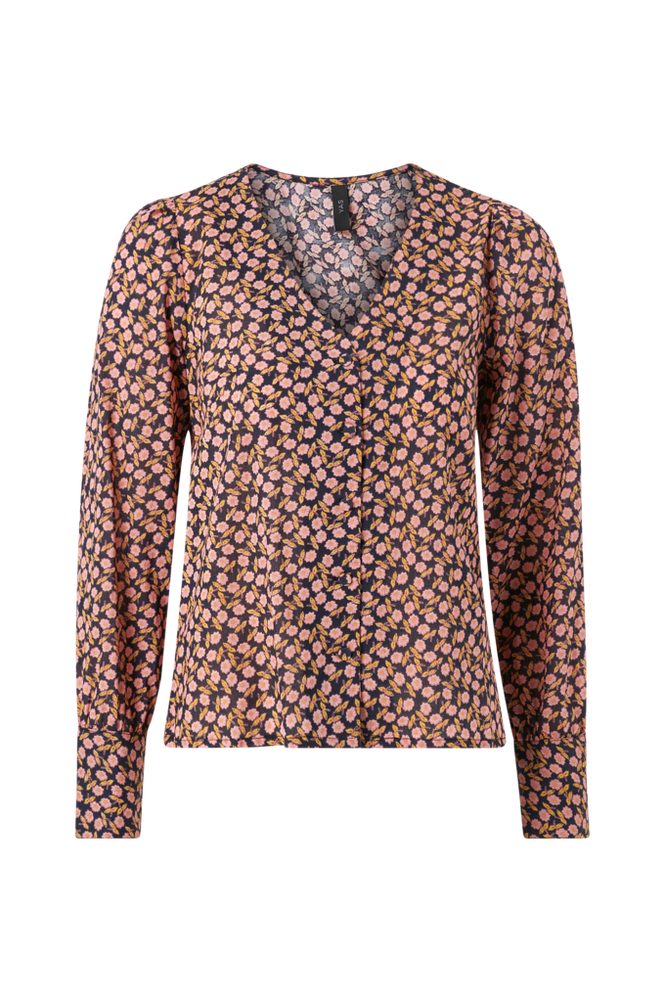 Y.A.S Bluse yasNanna LS V-neck Shirt