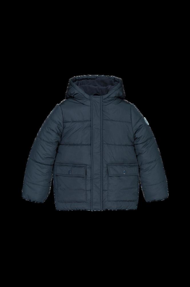 La Redoute Varm jakke med hætte og fleecefor