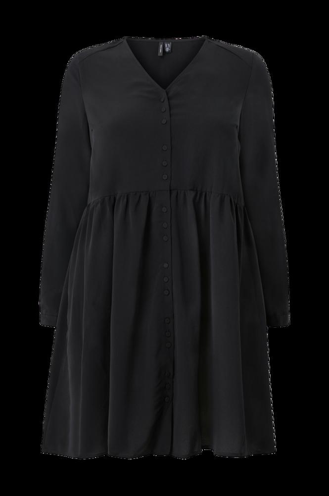 Vero Moda Curve Kjole vmGabrina 3/4 Short Shirt Dress Wvn Curve