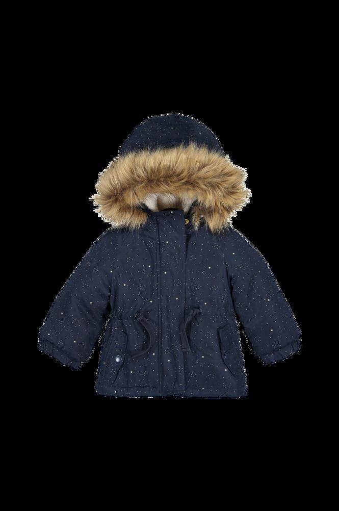 La Redoute Mønstret, varm jakke med hætte
