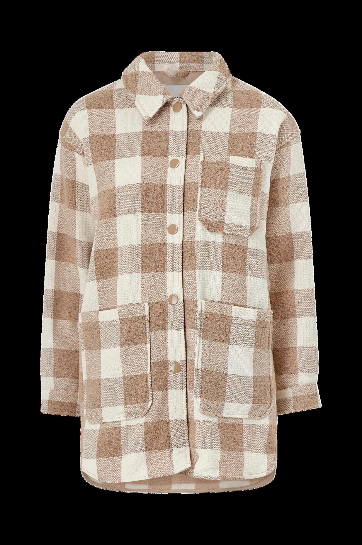 ICHI - Skjortjacka ihHanny - Natur