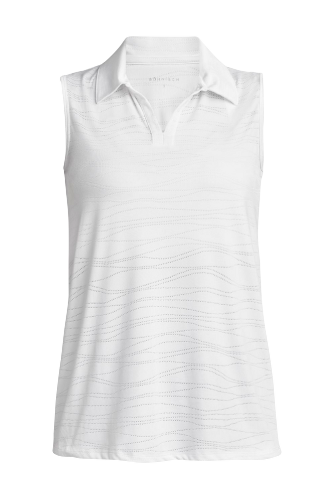 Röhnisch Poloshirt Zoey Sleeveless Poloshirt