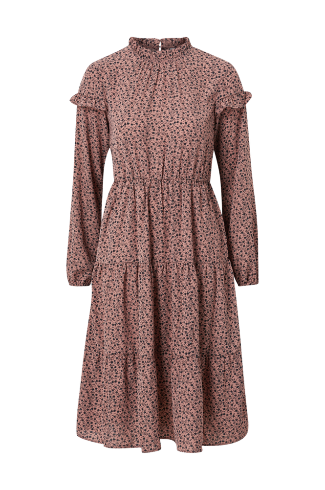 Vila Kjole viComba L/S Midi Dress