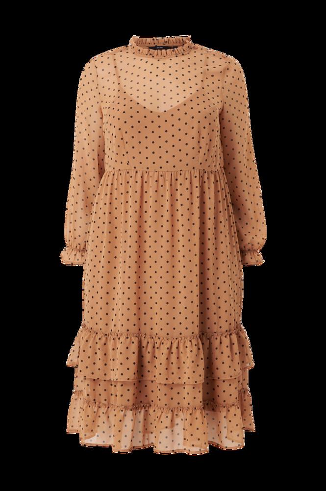 Vero Moda Curve Kjole vmBabusche LS Midi Dress K Curve