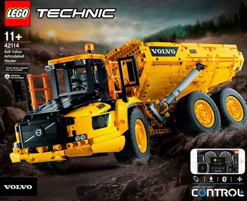 Technic - Volvo 6x6 ledad last