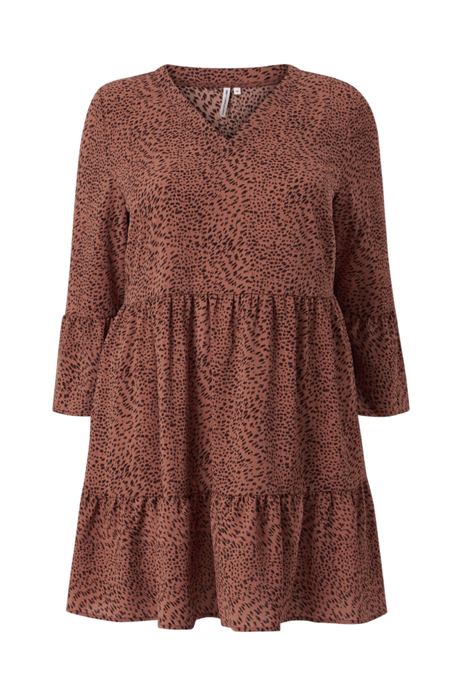 Only Carmakoma Kjole carLuxmaja 3/4 Tunic Dress Aop