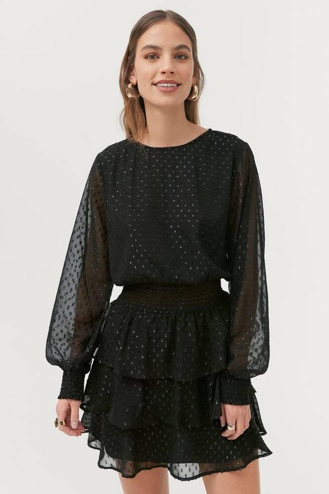 Gina Tricot Kjole Alva Glitter Dress
